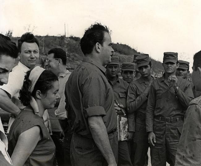 Georges Marchais à Cuba - 1966