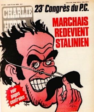 Cabu-charlie-Marchais-redevient-stalinien