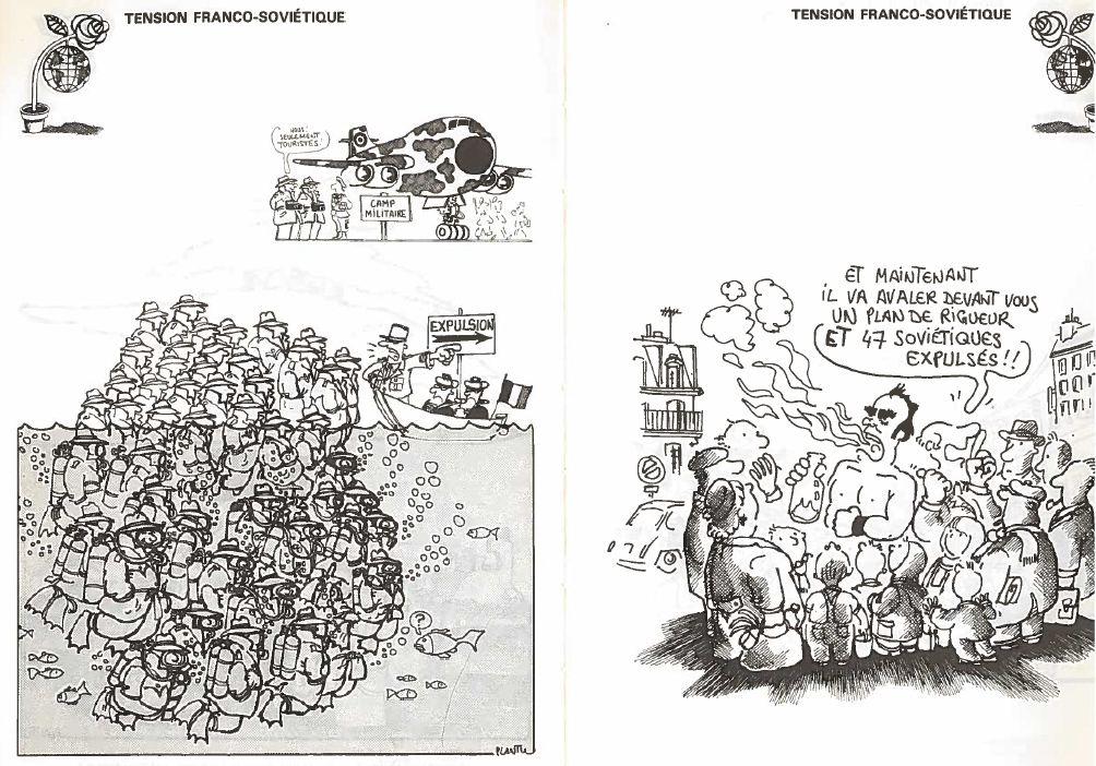 Plantu-c'est le goulag (118) tension franco-soviétique