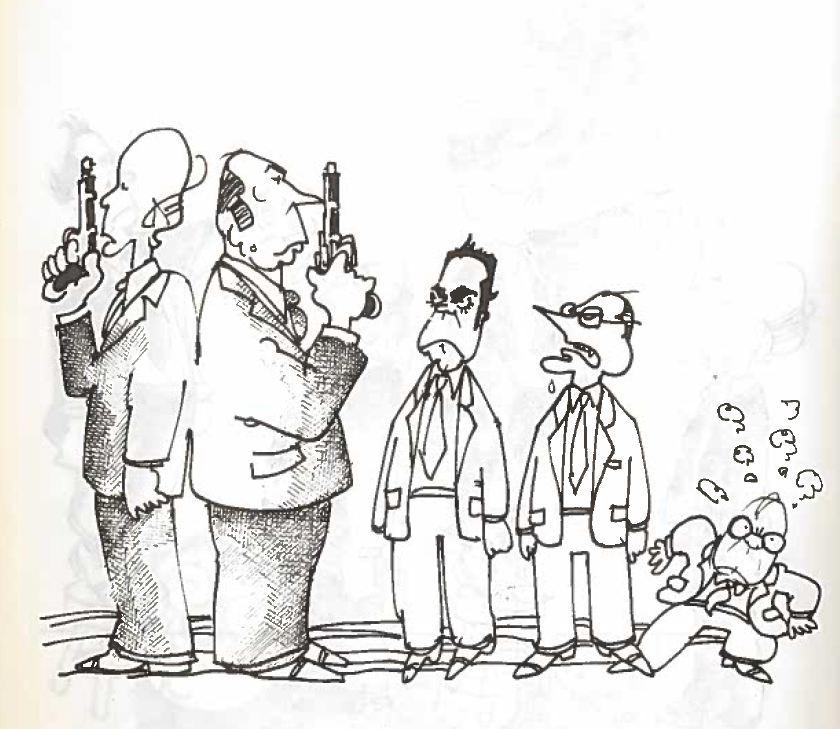 Plantu-c'est le goulag (18) duel Giscard-Mitterrand