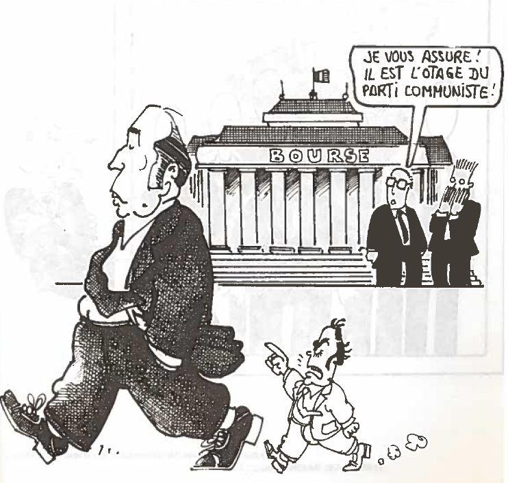 Plantu-c'est le goulag (19) Mitterrand otage du PCF 1981