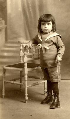 Georges Marchais enfant - 1925