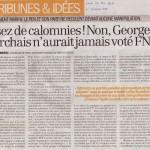 georges-marchais-provoc-FN-tribune-alexis-corbiere-2011