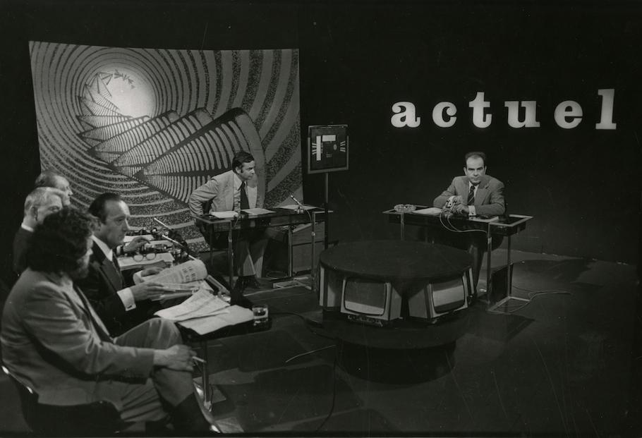 Georges Marchais à l'émission TV Actuel2- 17 Juin 1974
