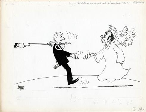 Faizant Jacques - l'ange Marchais