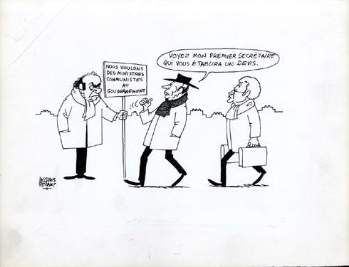 Faizant Jacques - des ministres communistes