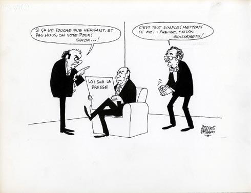 Faizant Jacques - loi sur la presse