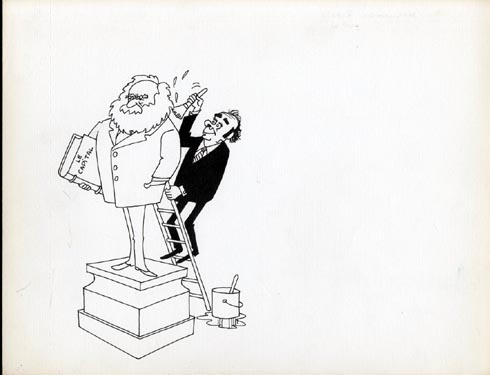 Faizant Jacques - nettoyage statut Karl Marx