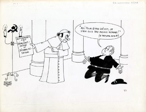 Faizant Jacques - Marchais en pape