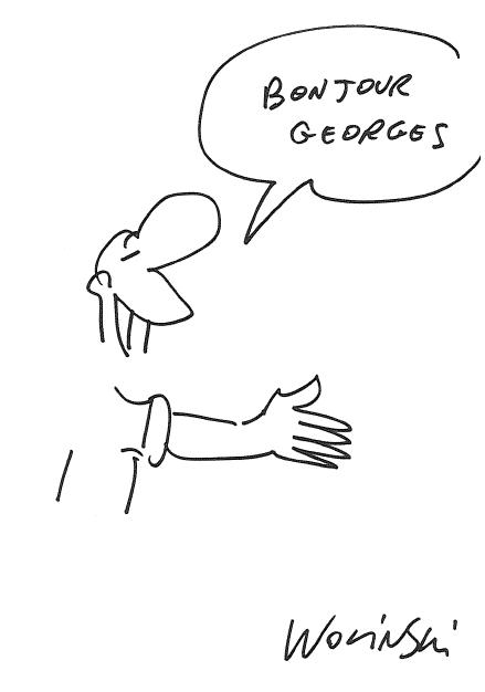 Wolinski-a gauche toute (01) dédicace à Georges Marchais