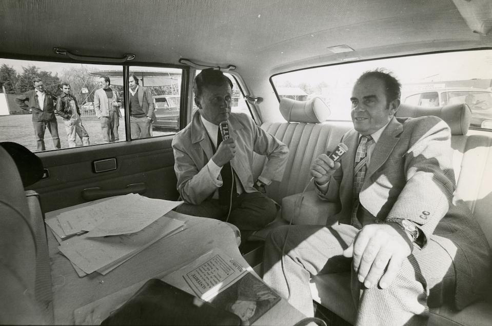 Georges Marchais et Philippe Bouvard - 1976 fête de l'Huma