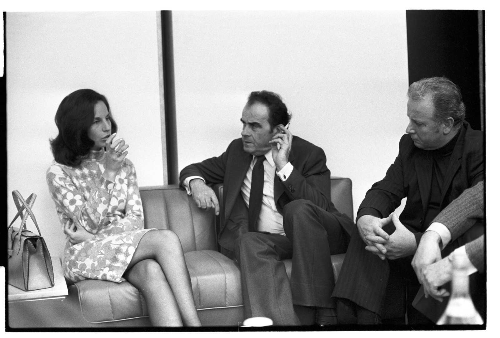 Georges Marchais et Isabelle Allende - Paris - 1975