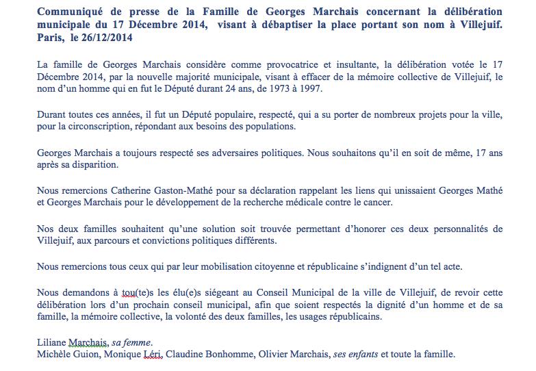 georges-marchais-place-villejuif-communique-presse-famille-marchais-26122014