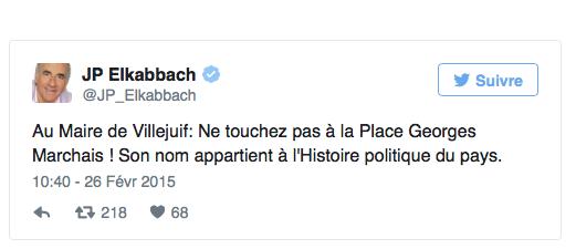 georges-marchais-place-villejuif-tweet-JP-Elkabbach-20150226
