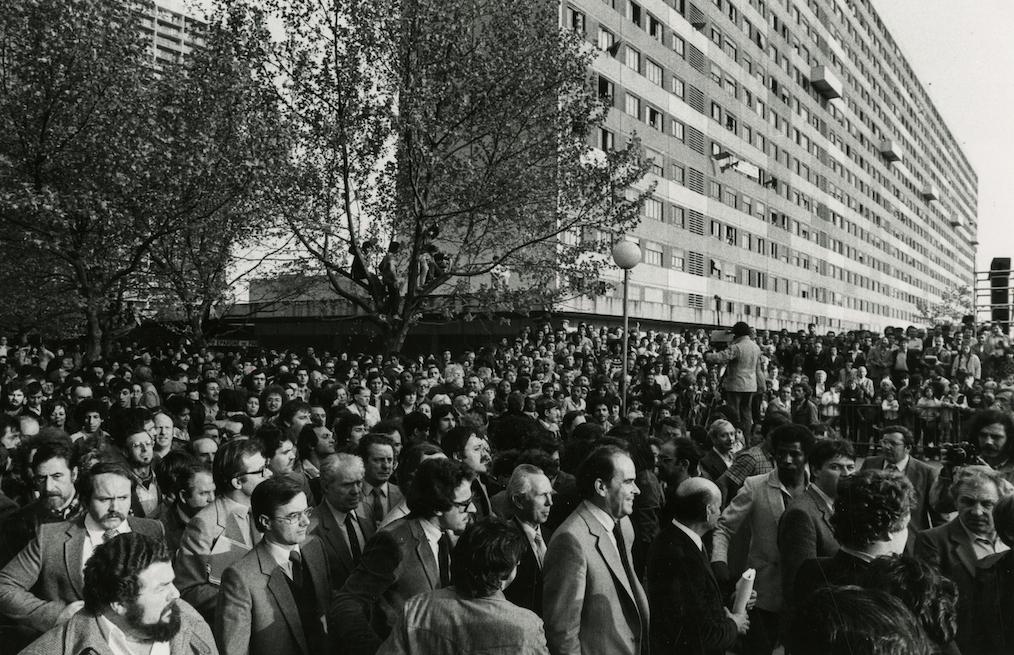 Georges Marchais - rencontre publique - La Courneuve 1981