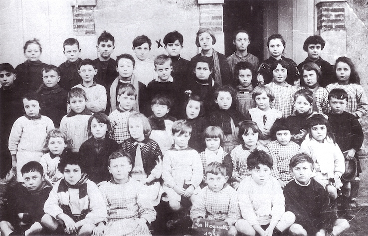 Georges Marchais - école la Hoguette - 1930