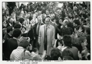 georges-marchais-28-mars-1993-victoire-legislatives-villejuif-humanite-joel-lumien
