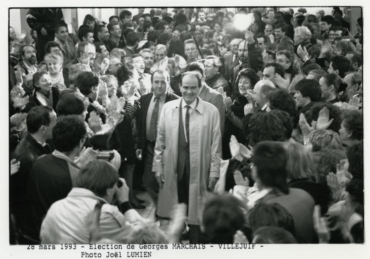 Georges Marchais - élections législatives Villejuif - 1993