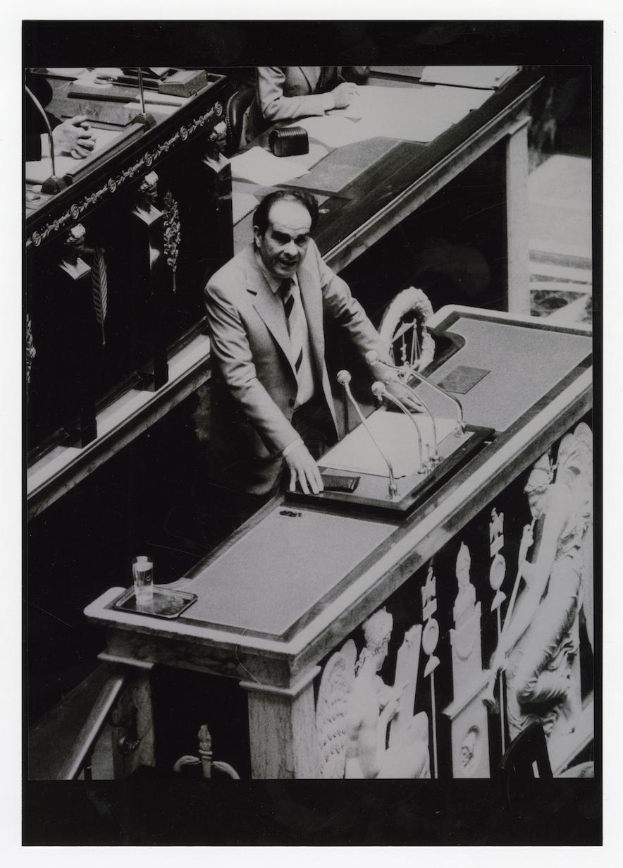 Georges Marchais à l'assemblée nationale - 1982