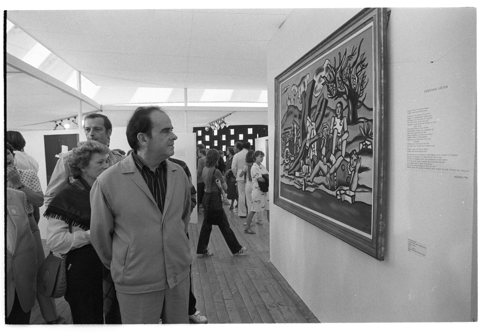 Georges Marchais - Fernand Leger - La partie de campagne - 1982