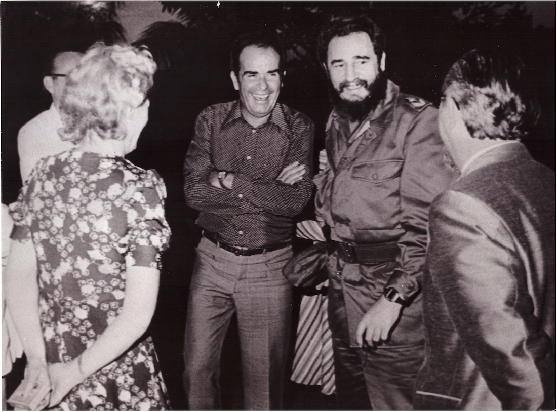 Georges Marchais et Fidel Castro - 1977