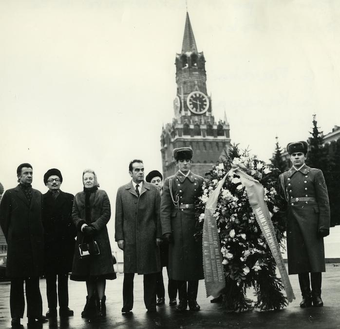 Georges Marchais - délégation PCF - anniversaire révolution Octobre URSS - 1967